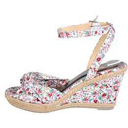 Refresh by Beston Women's 'Cutie' Wedge Sandals - Thumbnail 1
