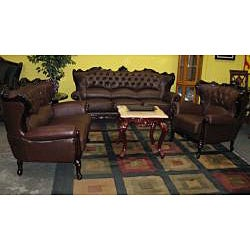 The Country Sofa and Loveseat Set