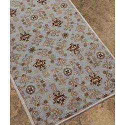 Hand-tufted Ashwood/ Ivory Wool Rug (9'6 x 13'6)