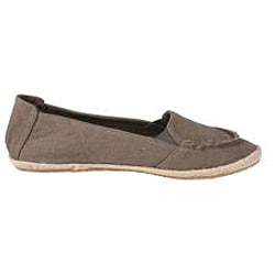 Refresh by Beston Women's 'Lala' Taupe Canvas Flats - Thumbnail 1