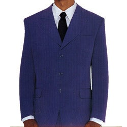 Divine Apparel Men's Two-piece Purple Suit
