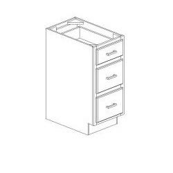 Honey Draw Base Kitchen Cabinet - Thumbnail 1