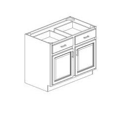 "Honey Base Kitchen Cabinet, 34.5 high x 42"" wide x 24 deep"