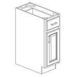 Base Antique White 12 x 34.5 in. Cabinet - Thumbnail 1