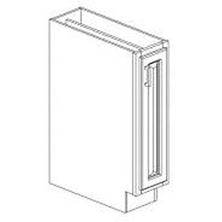 Base Antique White 9 x 34.5 in. Cabinet - Thumbnail 1