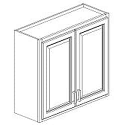 Antique White 30 x 36 in. Wall Kitchen Cabinet - Thumbnail 1