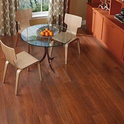 Easy Install 12mm Single-Strip Royal Mahogany Laminate Flooring (113.54 SF) - Thumbnail 1