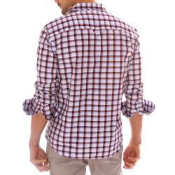 191 Unlimited Men's Red Plaid Shirt