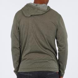 191 Unlimited Men's Green Pullover Hoodie - Thumbnail 1
