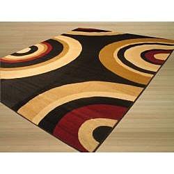 Venus Black/ Red Rug (8'2 x 9'10)