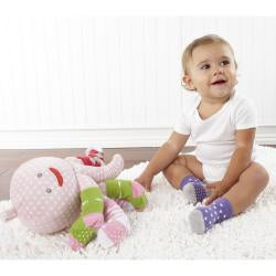 Baby Aspen Mrs. Sock T. Pus Plush and Sock Gift Set - Thumbnail 1