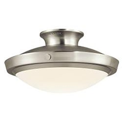 Contemporary Brushed Nickel 1-light Pendant - Thumbnail 1