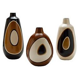 Chulucanas Circles Short Mouth Vase (Peru)