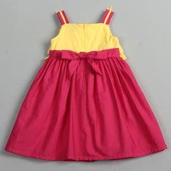 Donita Girls Flower Dress - Thumbnail 1