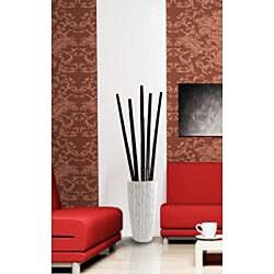 Laura Ashley Tall Black Bamboo Poles (9 Poles)