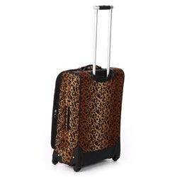 Nicole Miller 'Spot Check' 4-piece Expandable Spinner Luggage Set