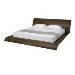 Waverly Modern Walnut Finish Queen-size Bed