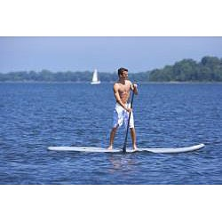 Rave Sports Palau Stand Up Paddle Board with Kayak Adjustable Seat - Thumbnail 1