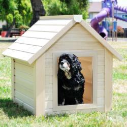 ecoConcepts Bunkhouse Style Medium Dog House - Thumbnail 1