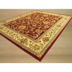 Red Persian Medallion Design Rug (7'10 x 9'10)