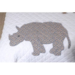 Greenland Home Fashions Jungle Story 3-piece Quilt Set - Thumbnail 1