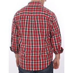 Farmall IH Men's Red Plaid Shirt - Thumbnail 1