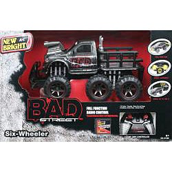 Remote Control 1:14 Scale Scratch Paint Bad Six Wheeler - Thumbnail 1