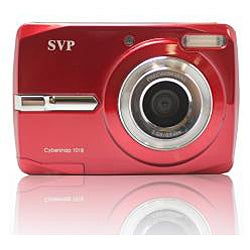 Cybersnap 1018 18MP Red Digital Camera