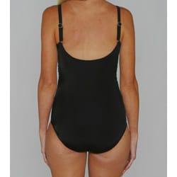 Jantzen Classics Black Twist Push-up Top 1-piece Swimsuit - Thumbnail 1