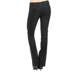 Stanzino Women's Black Flare-leg Pants - Thumbnail 1