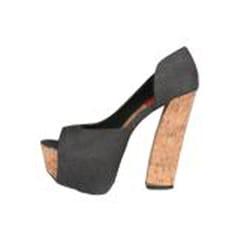 Riplay by Beston Women's 'ANNE-25' Peep Toe Platform Pumps