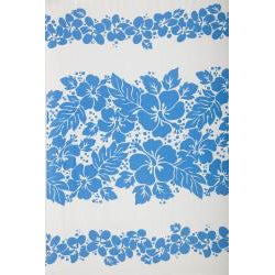 Three Lei's Sarong in Blue/White (Indonesia) - Thumbnail 1