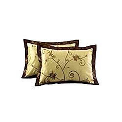 EverRouge Angelica Gold Full-size 12-piece Room in a Bag with Sheet Set - Thumbnail 1