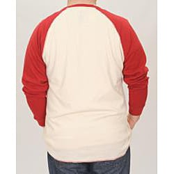 Stitches Men's St. Louis Cardinals Raglan Thermal Shirt - Thumbnail 1