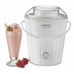 Cuisinart ICE-25 Classic Frozen Yogurt/Ice Cream and Sorbet Maker - Thumbnail 1