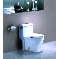 'ITHACA' Contemporary European Toilet with Single Flush and Soft Closing Seat