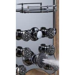 Jet Pro Royal Shower Spa With 8 Jets And 2 Heads Ping The Best Deals On Mage Panels