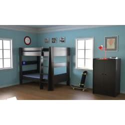 Popsicle Espresso Twin-over-Twin Bunk Bed