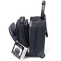 Samsonite Triple Gusset Wheeled 15.4-inch Computer Laptop Business Case Overnighter - Thumbnail 1