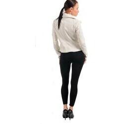 Stanzino Women's White Zip Jacket