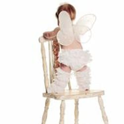 Mia Belle Baby Ruffled Lace Bloomers and Legwarmers for Baby/Toddler