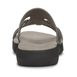 A2 by Aerosoles Women's 'Wip Current' Silver Sandals - Thumbnail 1