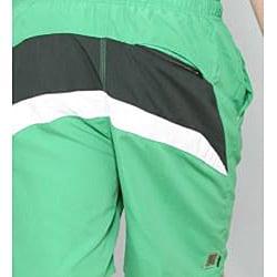 Zonal Men's 'Bait E-Board' Green Swim Shorts