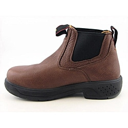 Georgia Men's GR604 Brown Boots Wide - Thumbnail 1
