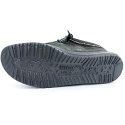 Hey Dude Men's Wally Black Casual Shoes - Thumbnail 1
