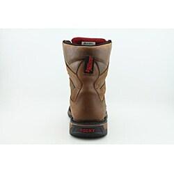 Rocky Men's 6885 Long Range Brown Boots Wide - Thumbnail 1