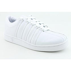 K Swiss Men's The Classic White Casual Shoes (Size 7) - Thumbnail 1