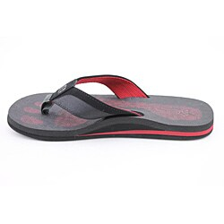 Cushe Men's Forensic Flop Black Sandals - Thumbnail 1