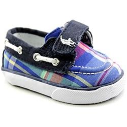 Ralph Lauren Layette Boy's Coast Ez Blue Casual Shoes - Thumbnail 1