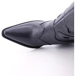 Carlos Santana Women's Silverado Black Boots - Thumbnail 1